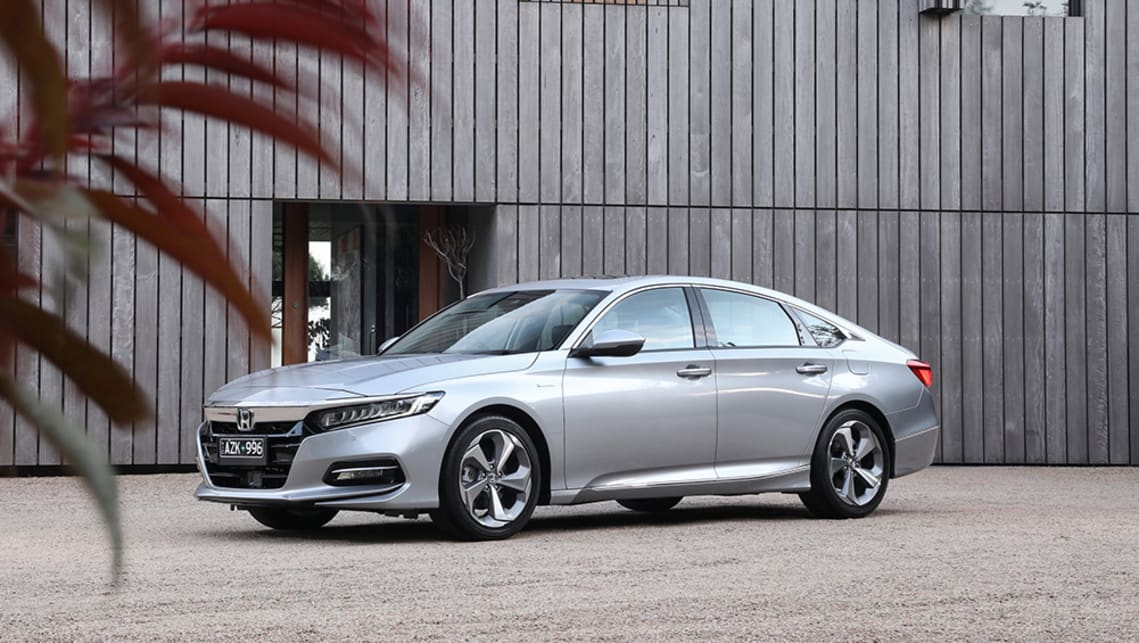 New Honda Accord 2020 Pricing And Specs Confirmed Hybrid Cost Falls By 8500 Car News Carsguide