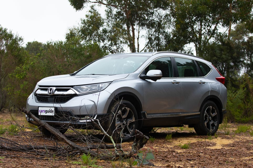 The Honda CR-V VTi-S all-wheel drive is a family-friendly mid-sized SUV suited to real life. (image: Marcus Craft)