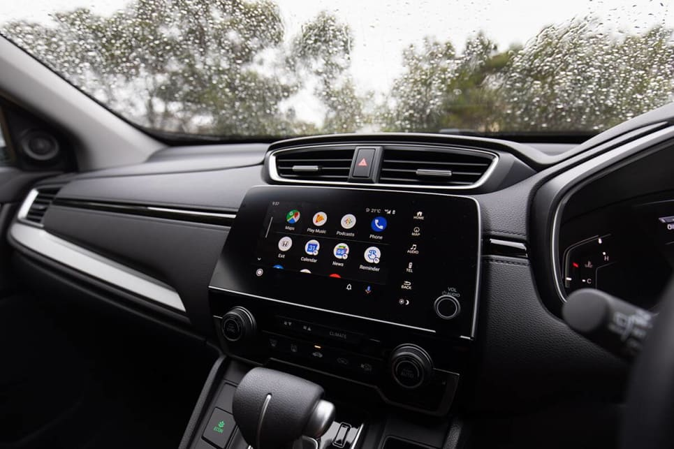 I did have some minor issues with with the CR-V's 7.0-inch touchscreen. (image: Marcus Craft)