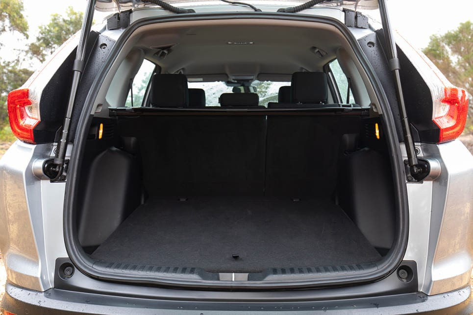 Boot space is claimed to be 522 litres with the second-row seats in use. (image: Marcus Craft)