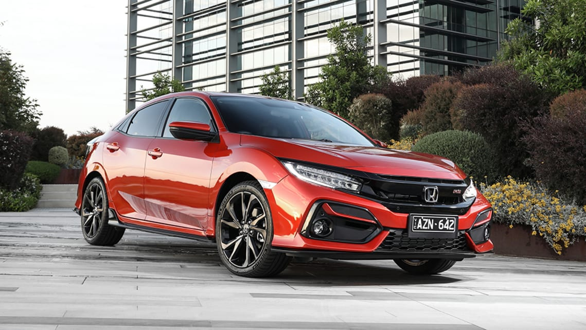 New Honda Civic Hatch 2020 Pricing And Specs Detailed Facelift Increases Cost Of Entry Car News Carsguide