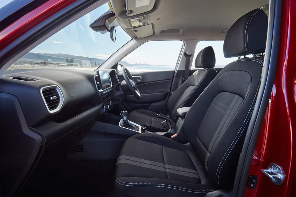 Up front, you'll find the space on offer is surprisingly generous. (Active model shown)