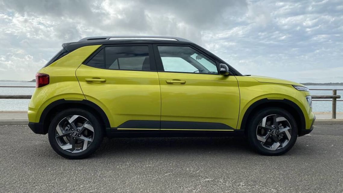 Like Suzuki's Ignis, it's a chunk of design rather than just a form-and-function-by-the-numbers compact SUV. (image: Peter Anderson)