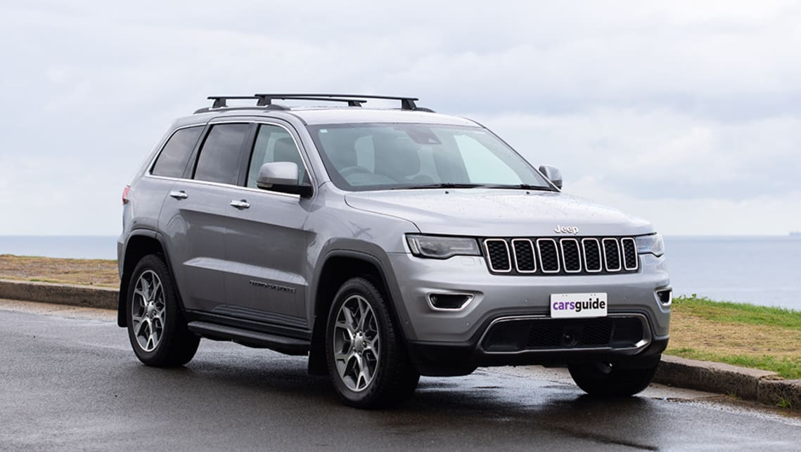 The Jeep Grand Cherokee Limited has classic, rugged good looks. (image: Dean McCartney)