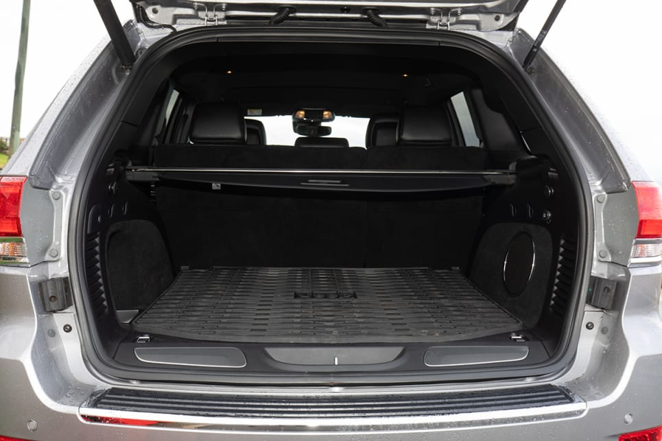The boot is huge - a very spacious 782L. (image: Dean McCartney)