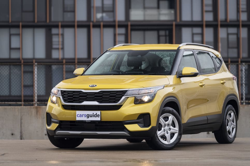 Modern styling makes the Seltos S look like a premium small SUV.