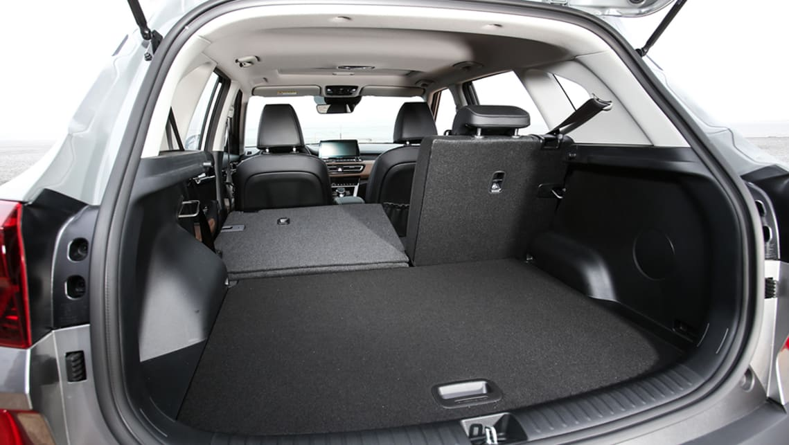 Those rear seats also recline, and there are rear air vents and a USB charge point back there, too.