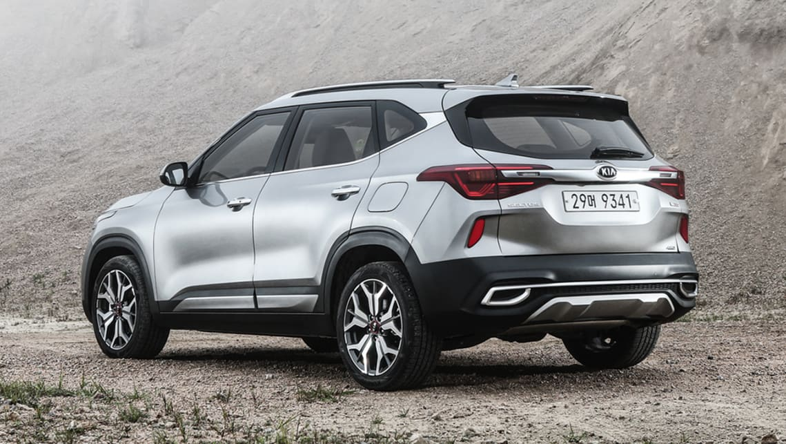 Kia's design team has done a seriously good job of giving its new SUV a bold and strong road presence.
