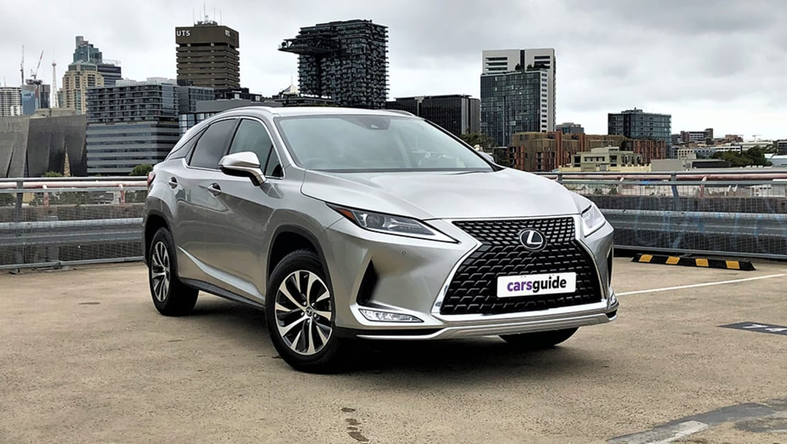 The Lexus RX300 Luxury is the entry point into the RX large SUV brand. (image: Richard Berry)