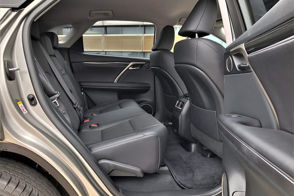 Have a look at my photo of the entry to the RX300's back seat – that's a big doorway  for a car. (image: Richard Berry)