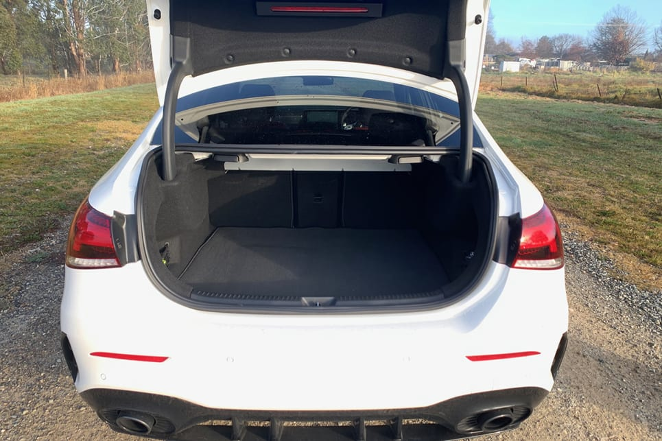 There's an additional 60 litres of boot space here over the five-door model, with 430L of cargo capacity.