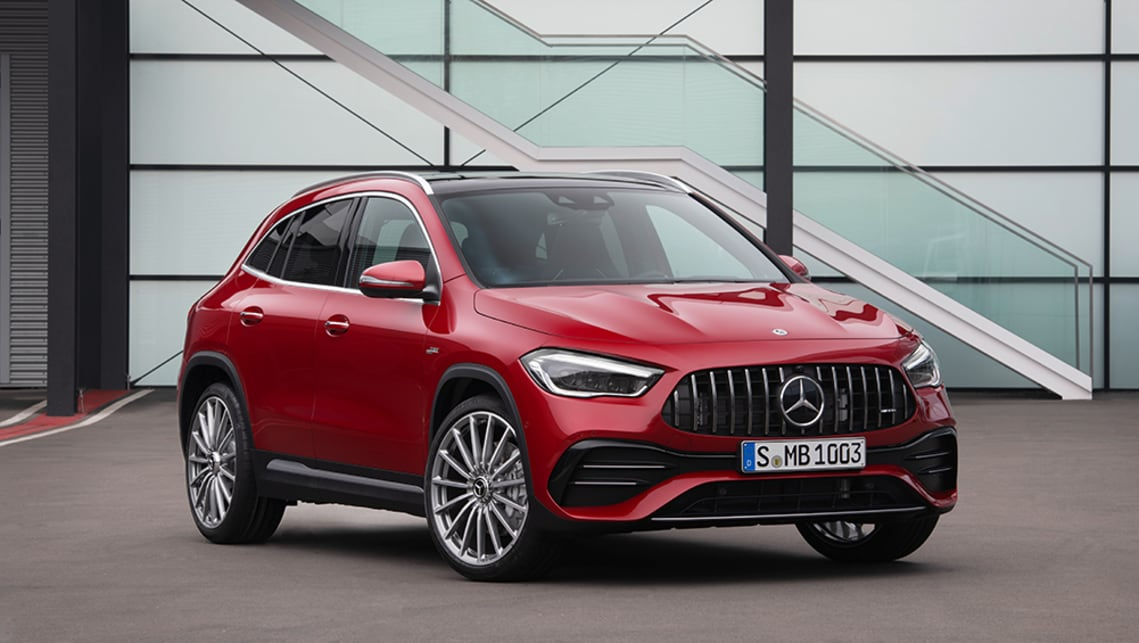 New Mercedes Benz Gla 2020 Detailed Bmw X1 Rivalling Small Suv Steps Up Car News Carsguide
