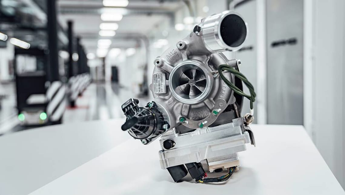 Mercedes-AMG's electric exhaust-gas turbocharger