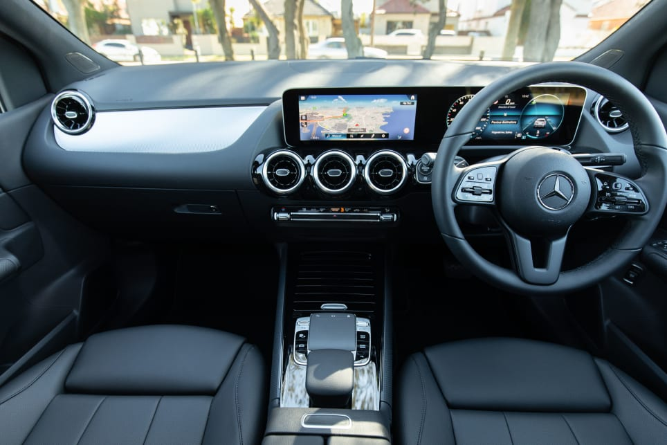 The interior features a completely digitalised dash