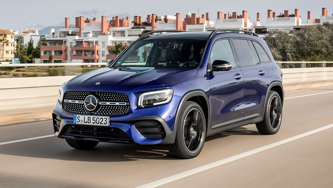 New Mercedes Benz Glb 2020 Pricing And Specs Detailed Seven Seat Audi Q3 Rival Arrives Car News Carsguide