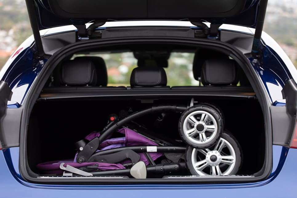 It easily fit the Cars Guide pram. (image: Dean McCartney)