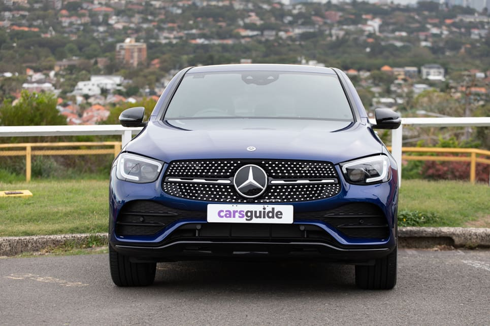 I test drove the entry-level Coupe model, the GLC 300, which costs from $89,900. (image: Dean McCartney)