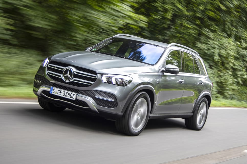 Only the diesel GLE 350 de version of the GLE plug-in hybrid has been shown so far.