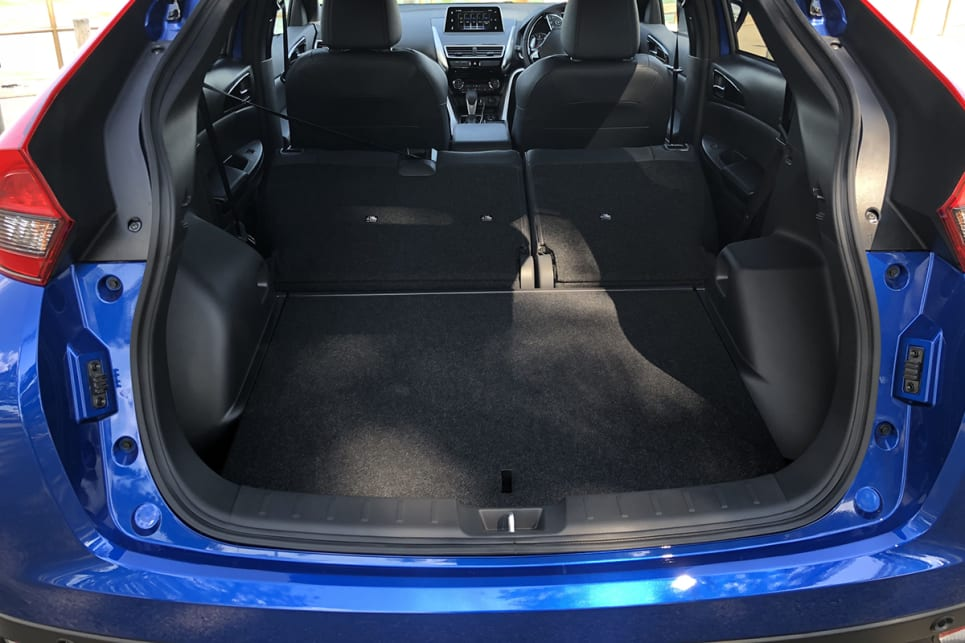 Drop the rear seats altogether and space goes to 1122 litres. (image: Peter Anderson)