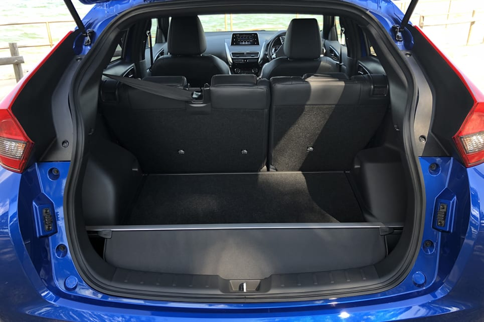 With the rear seats slid all the way back you start with 341 litres of boot space and if you go the other way, it's 448 litres. (image: Peter Anderson)