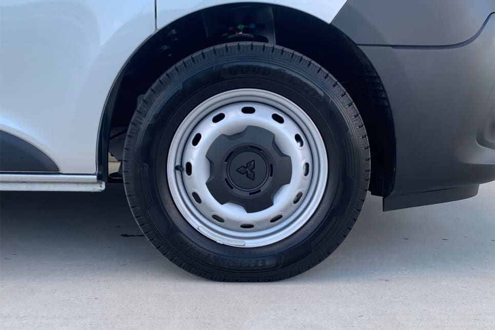 All models come with 16-inch steel wheels. (LWB model shown)