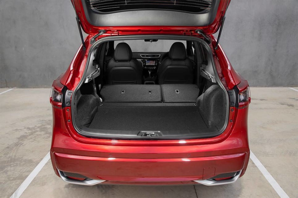 Fold the back seats and luggage capacity grows to 1598-litres.