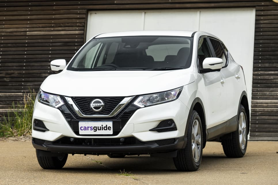 The Qashqai remains a conventionally attractive vehicle.