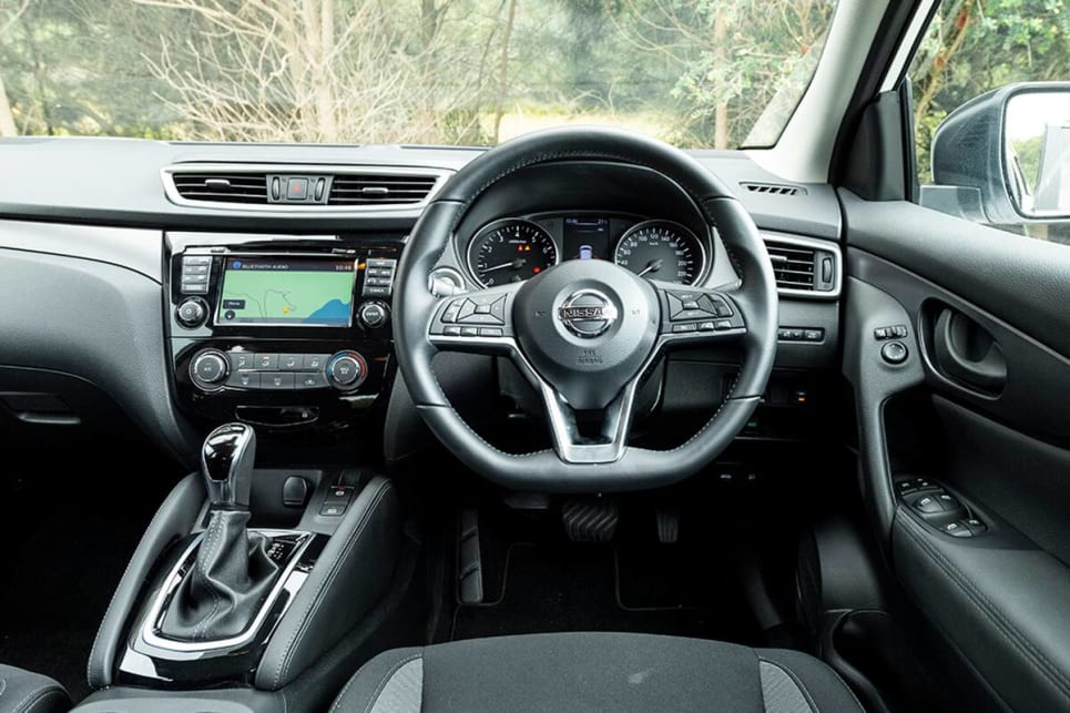 The Qashqai feels the second-most modern inside.