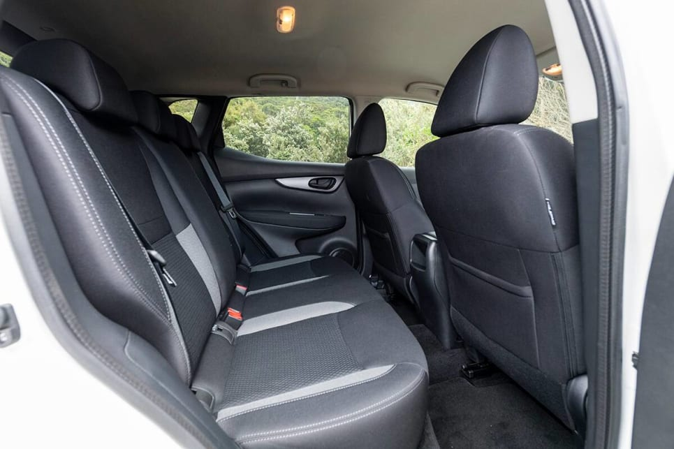 The Qashqai was about on par for back seat space with the C-HR.