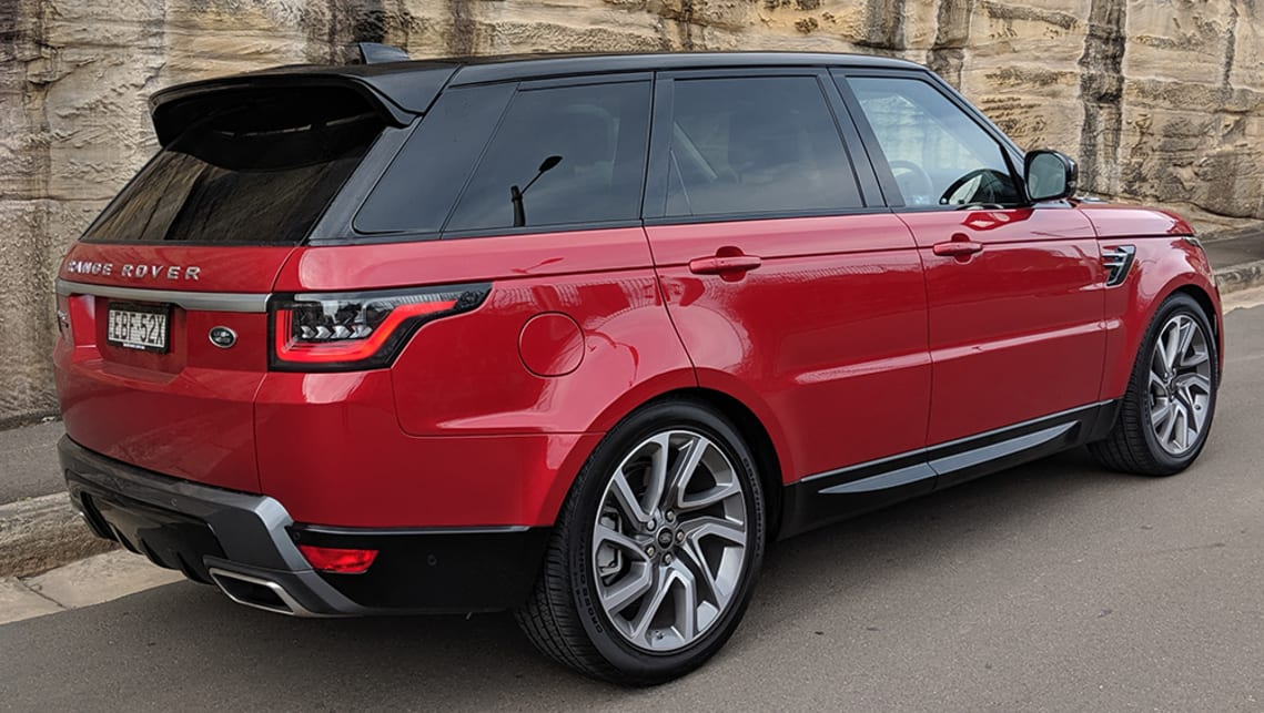The plug-in hybrid version of the high-riding Range Rover Sport is here to provide a more fuel-efficient way to ferry your loved ones around. (image: Dan Pugh)