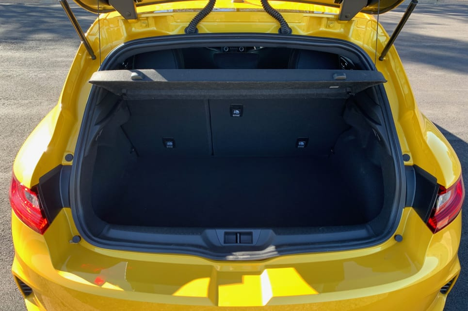 Luggage capacity is claimed at a healthy 434 litres.