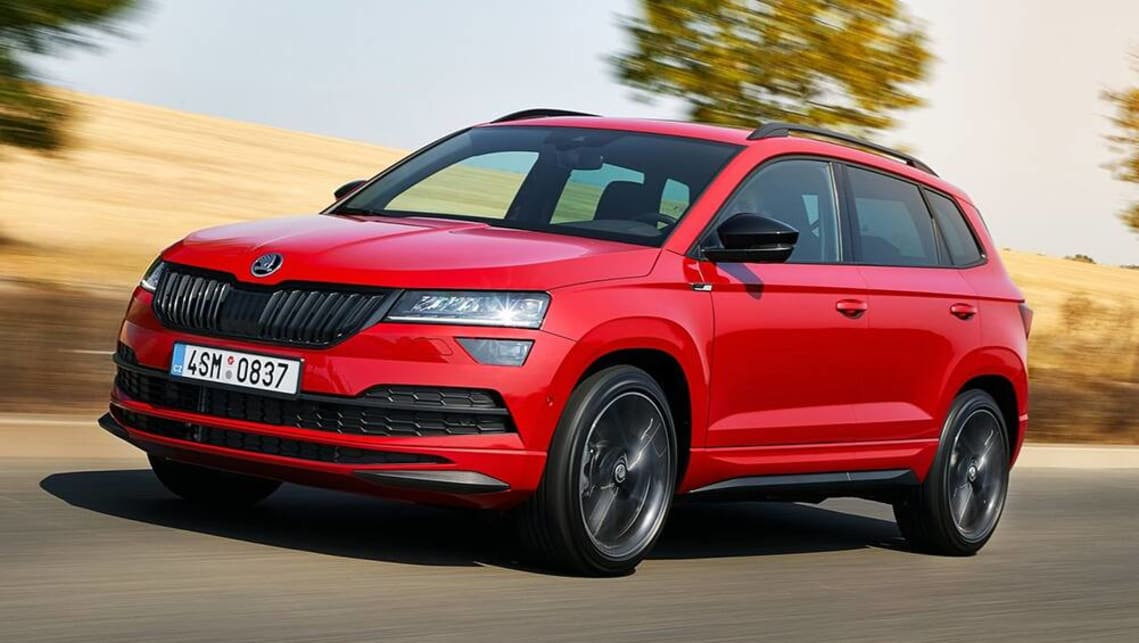 New Skoda Karoq 2020 Pricing And Spec Detailed Flagship 140tsi Sportline Suv Arrives To Take On Mazda Cx 30 Car News Carsguide