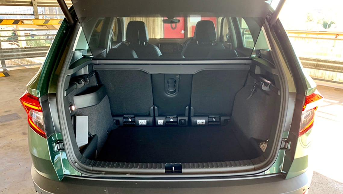 With the seats in their most passenger-friendly setting, you'll still have 479 litres of cargo capacity to play with. (image: Matt Campbell)
