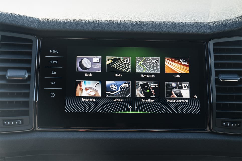 The 9.2-inch screen comes with Apple CarPlay and Android Auto, plus digital radio.