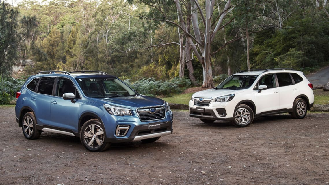 Subaru Forester 2020 Pricing And Spec Confirmed Small Equipment Bump For Popular Mid Size Suv Car News Carsguide