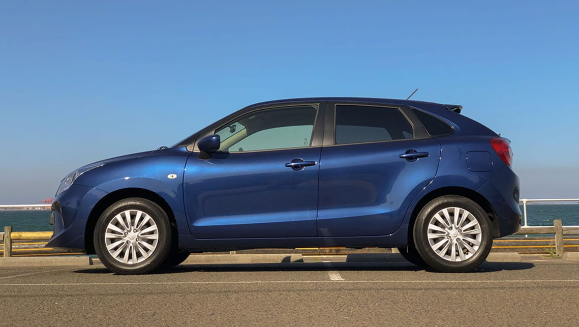 Suzuki says the Baleno's look reflects the brand's 'Liquid Flow' design language. (image: Peter Anderson)