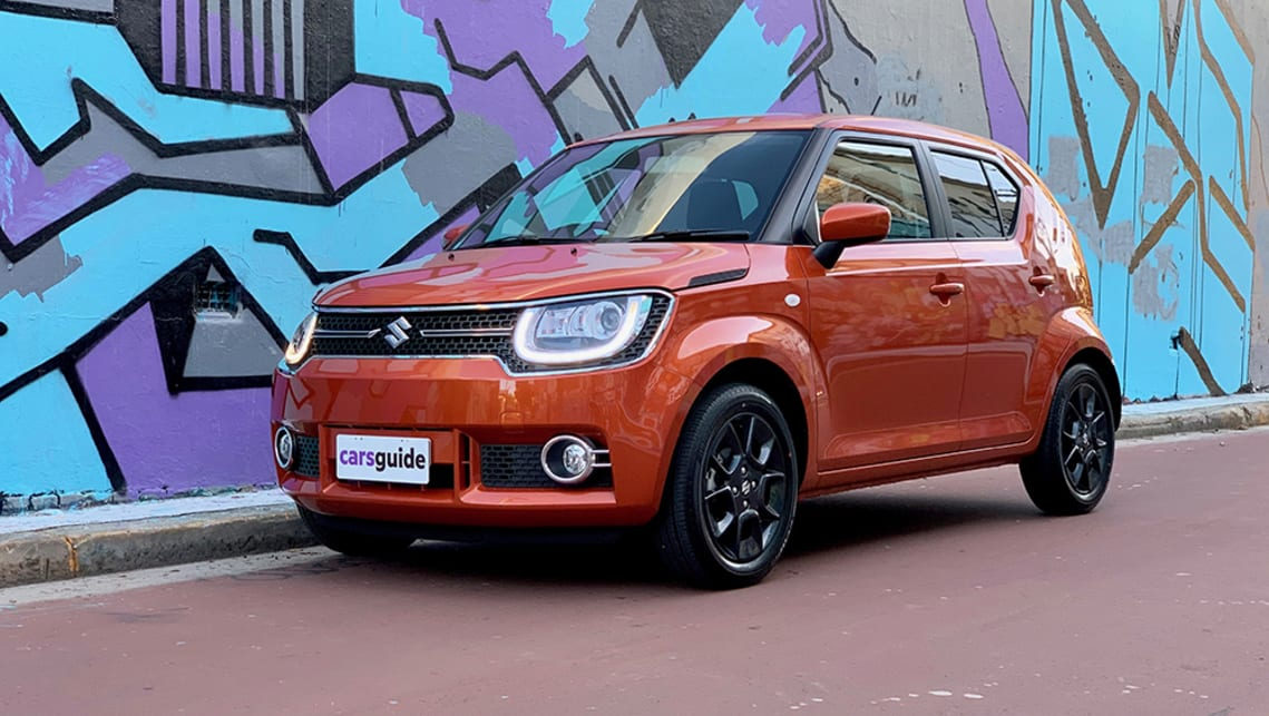 The GLX is top of the range in the Suzuki Ignis line-up. Mind you, there are only two choices. (image: Matt Campbell)