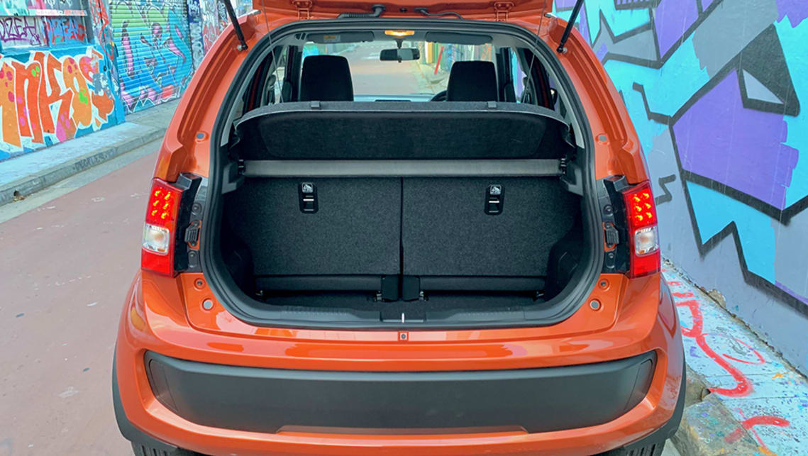 The boot capacity is stated at 264 litres with the seats up. (image: Matt Campbell)