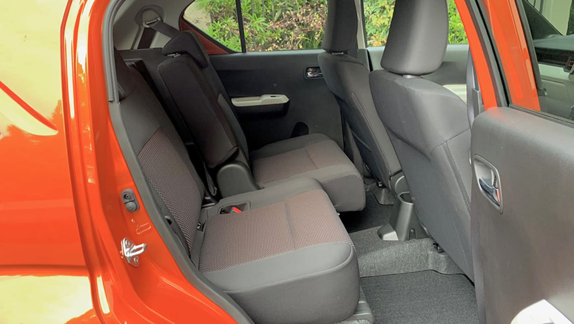 Occupant space in the back is excellent, provided you're not too tall. (image: Matt Campbell)