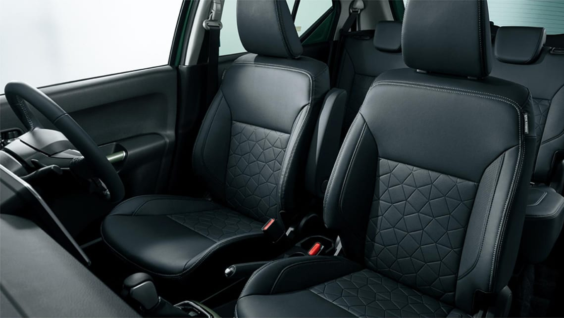 Faux leather is a new upholstery option for the Ignis.