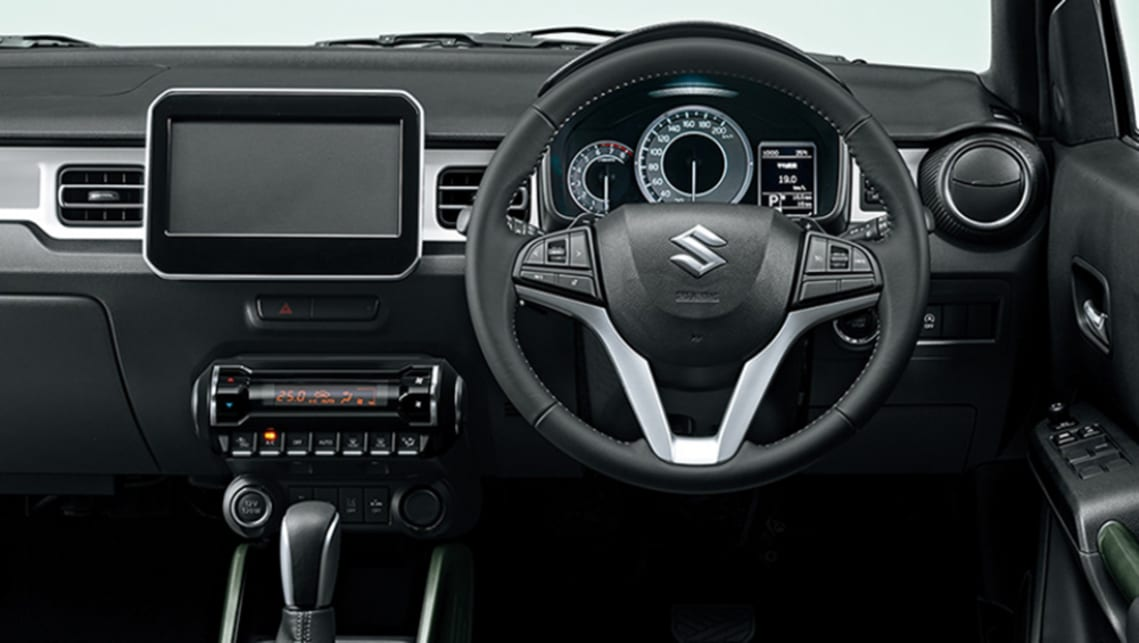 Look closely and you'll notice the Ignis has an upgraded multimedia system.