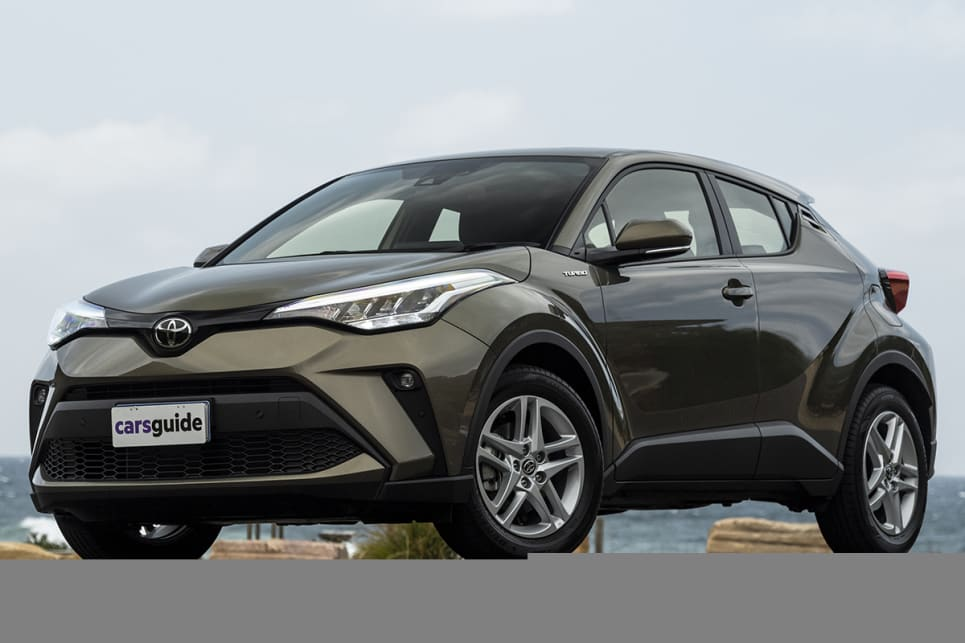 The stand-out in terms of styling is the C-HR.