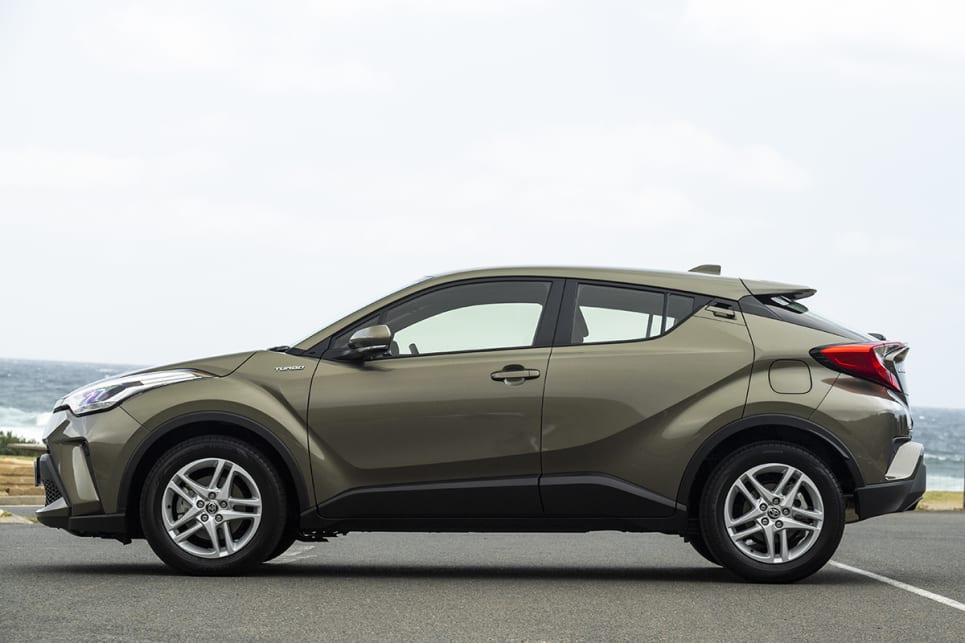Toyota C-HR base model.