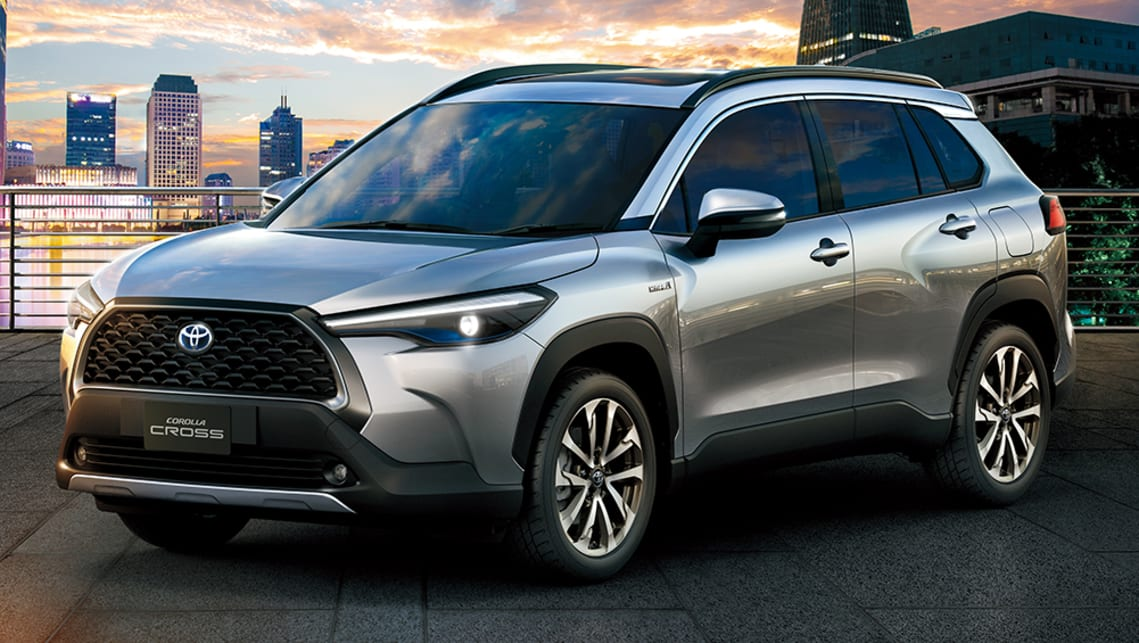 New Toyota Corolla Cross Suv 2021 Detailed Tough Looking Small Suv Slots In Between C Hr And Rav4 Car News Carsguide