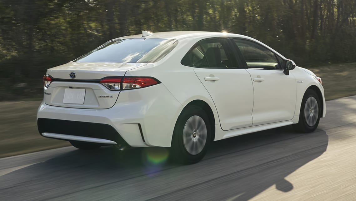 The Corolla sedan finally joins the hatchback range.