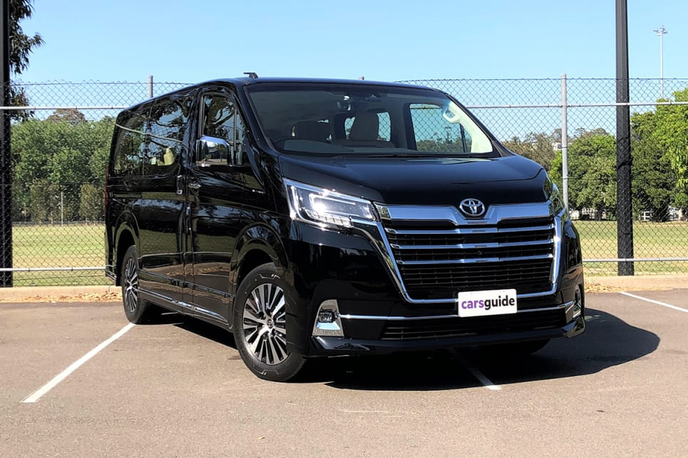 The Granvia is a new-generation people mover based on the Toyota HiAce commercial van and arrived in Australia in 2019. (image: Richard Berry)