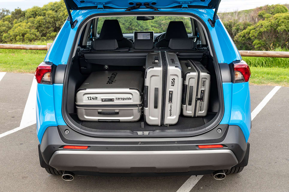 It has a wider boot space that makes loading easier.