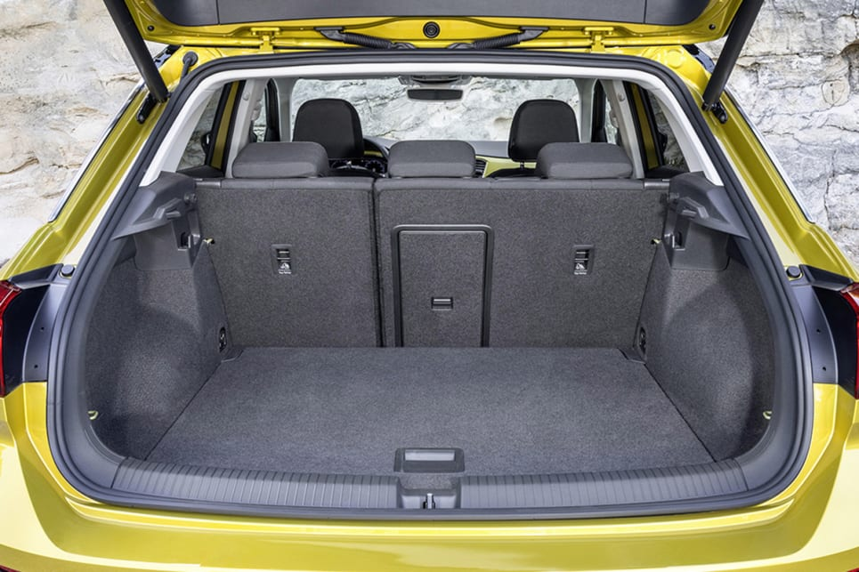 The T-Roc will come with a generous 445-litre boot.