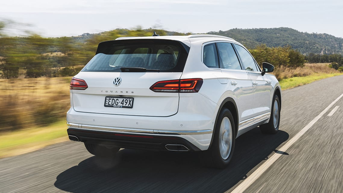 New Vw Touareg 2020 Pricing And Specifications Detailed Bmw X5 Rival S Range Expands Car News Carsguide