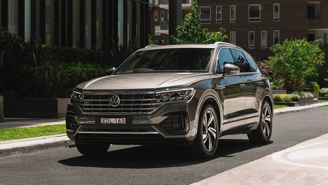 new vw touareg 2020 pricing and specifications detailed bmw x5 rival s range expands car news carsguide new vw touareg 2020 pricing and